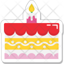 Cake Birthday Food Icon