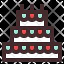 Cake Anniversary Wedding Icon