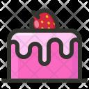 Cake Birthday Dessert Icon
