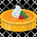Cake Creamy Dark Icon