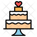 Cake Birthday Celebration Icon