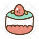 Cake Cupcake Cherry Icon