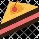 Cake Sweet Slice Icon