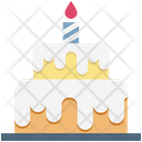 Birthday Cake Food Cake Icon