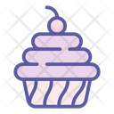 Cake Pie Bakery Icon