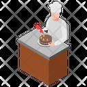 Cake Making Cake Decoration Cake Baker Icon