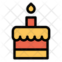 Birthday Cake Sweet Dessert Icon
