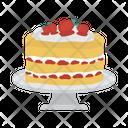 Bakery Sweet Strawberry Icon