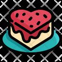Cake Strawberry Dessert Icon
