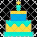 Birthday Cake Birthday Celebration Icon