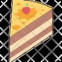 Cake Cake Pudding Cake Slice Icon