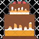 Bakery Food Birthday Cake Icon
