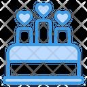 Cake Wedding Love Love Cake Wedding Cake Icon