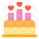 Cake Wedding Love Love Cake Wedding Cake Icon