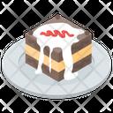 Cake Christmas Cake Pastry Icon