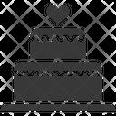 Cake Wedding Cake Dessert Icon