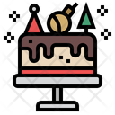 Cake Christmas Cake Birthday Cake Icon