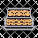 Cake Sweet Birthday Icon