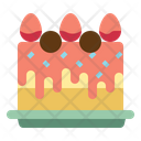 Anniversary Birthday Cake Icon