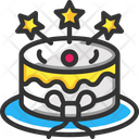 Cake Birthday Cake Celebration Icon