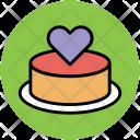 Cake Dessert Valentine Icon