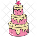 Wedding Cake Birthday Cake Sweet Cake Icon