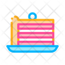 Puff Cake Berry Icon
