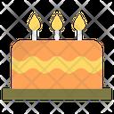 Dessert Food Cake Icon