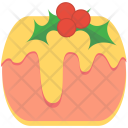 Cake Cheese Cherries Icon
