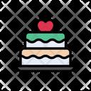 Cake Birthday Love Icon