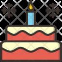 Cake Christmas Xmas Icon