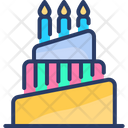 Cake Dessert Creamy Icon