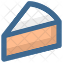 Christmas Cake Piece Icon