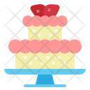 Cake Sweet Desert Icon