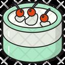 Cake Strawberry Sweet Icon