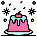 Pudding Candy Cake Icon