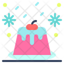 Pudding Candy Cake Icon