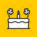 Cake Celebrate Saint Icon