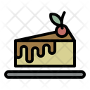Cake Bakery Cherry Icon