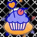 Cake Pastry Cream Icon