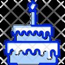 Cake Birthday Party Icon