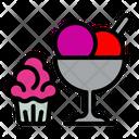Cake Ice Cream Icon