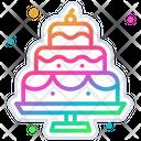 Cake Birthday Celebration Icon