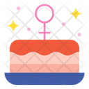 Cake Food Heart Icon