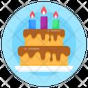Birthday Cake Cake Party Cake Icon