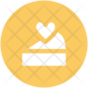 Cake Heart Sign Icon