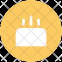 Cake Candles Valentine Icon