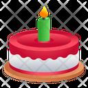 Sweet Dessert Cake Icon