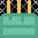 Cake Birthday With Icon