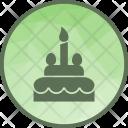 Cake Party Celebration Icon